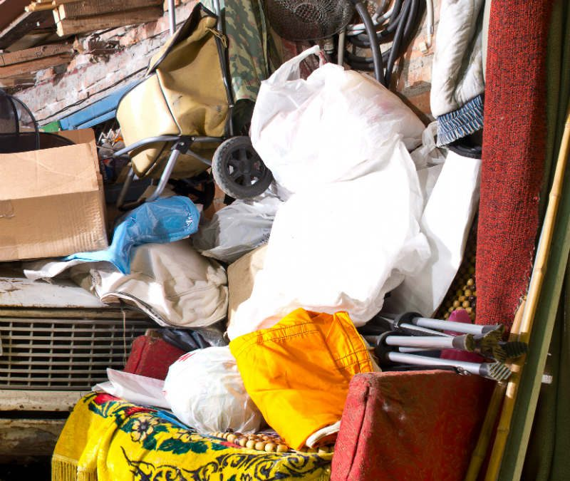 How Garage Clutter is Dangerous To Your Health